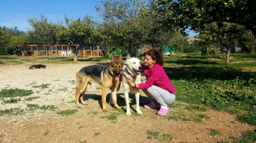 Lenny & Shila con Tania